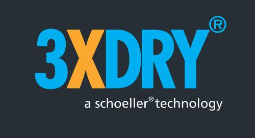3XDRY - wykończenie tkaniny, jeden funkcjonalny materiał o trzech właściwościach