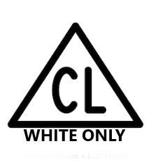 Chlorować wyłącznie białą odzież